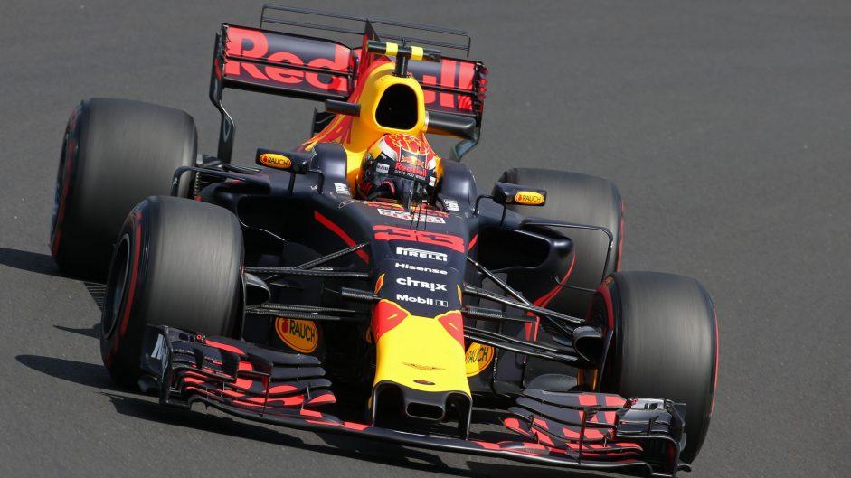Max Verstappen, Red Bull, Hungaroring, 2017