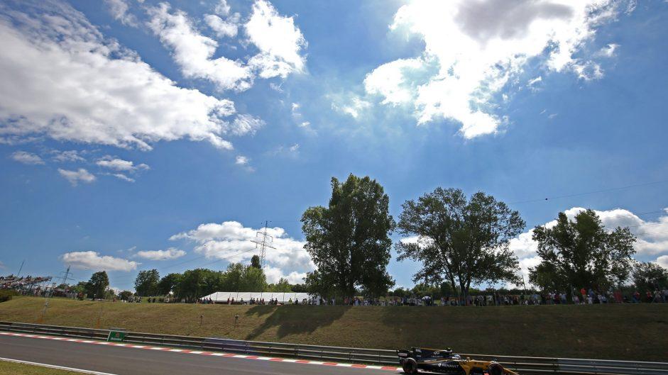 Jolyon Palmer, Renault, Hungaroring, 2017