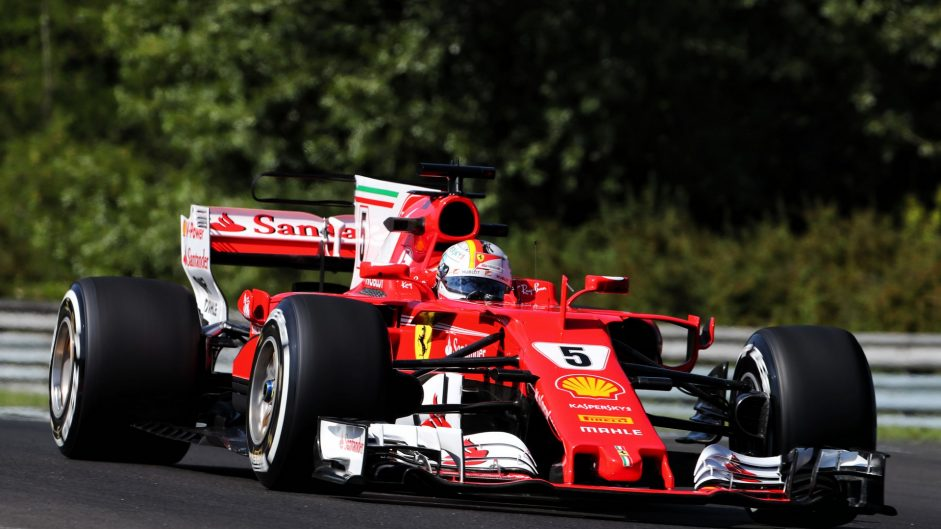 2017 Hungarian Grand Prix grid