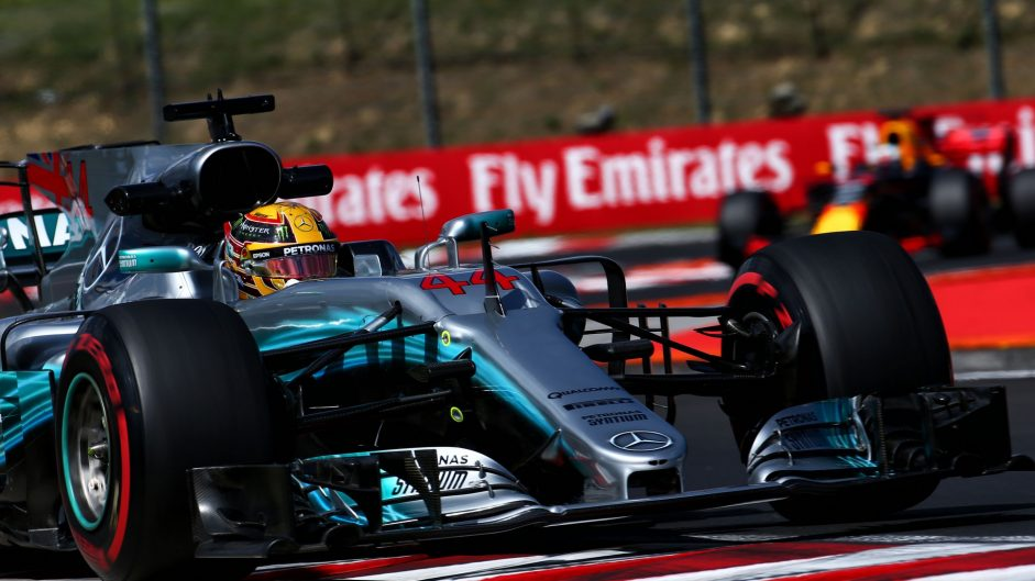 """""""It's going to be a train"""": Hamilton downbeat on race chances"""