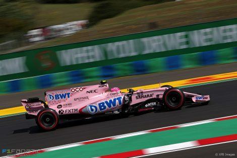 Esteban Ocon, Force India, Hungaroring, 2017