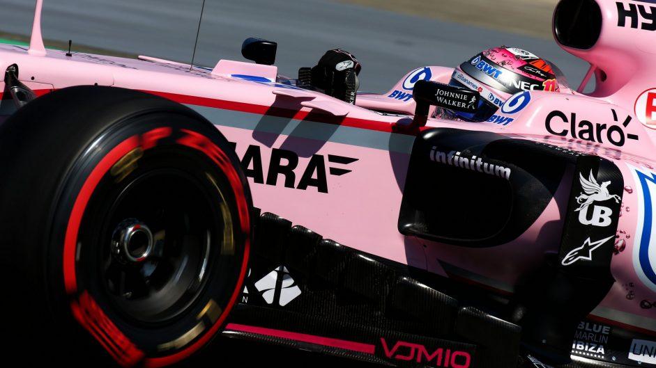 Sergio Perez, Force India, Hungaroring, 2017