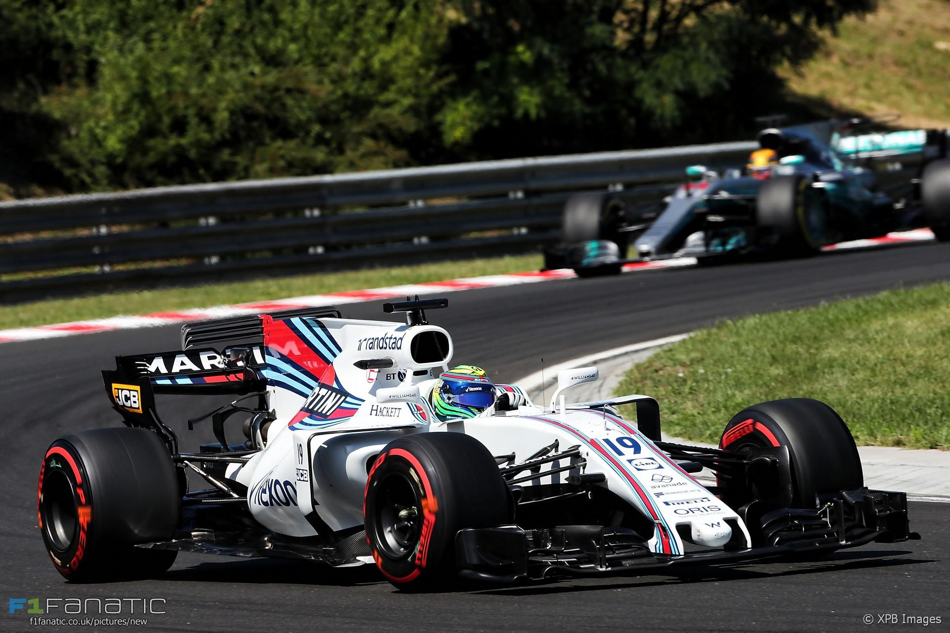 Felipe Massa, Williams, Hungaroring, 2017