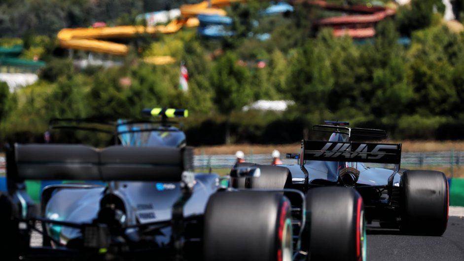Romain Grosjean, Haas, Hungaroring, 2017