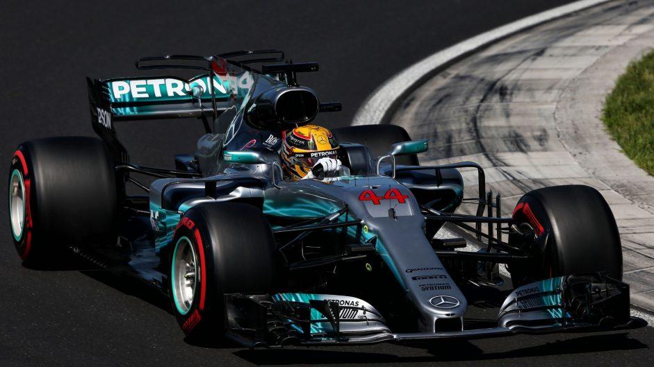 Lewis Hamilton, Mercedes, Hungaroring, 2017