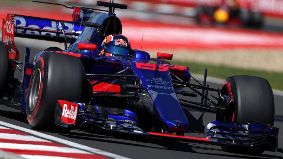 Daniil Kvyat, Toro Rosso, Hungaroring, 2017