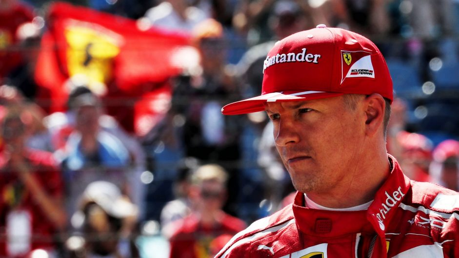 Ferrari confirm Raikkonen will drive for them again in 2018