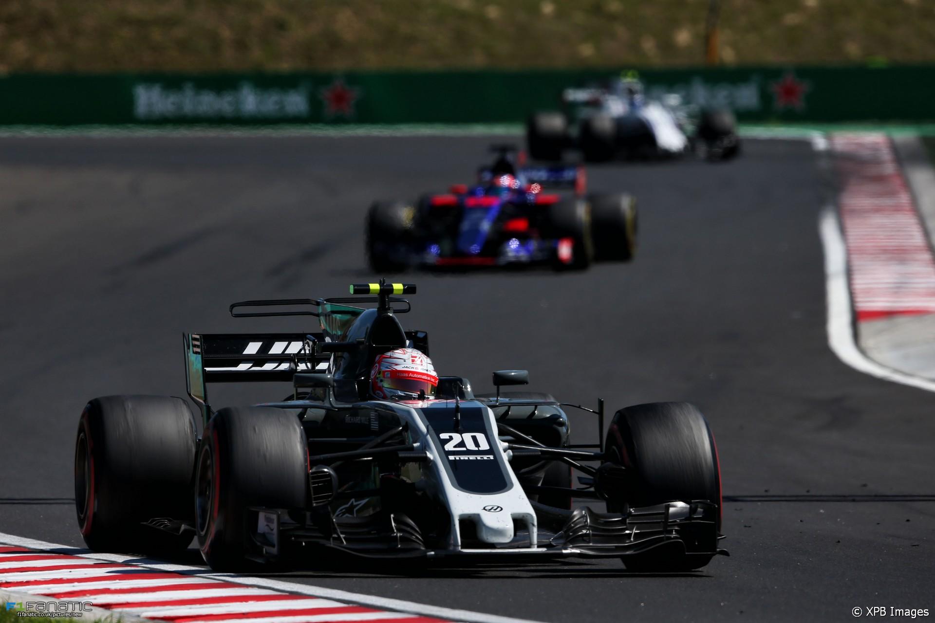 Kevin Magnussen, Haas, Hungaroring, 2017