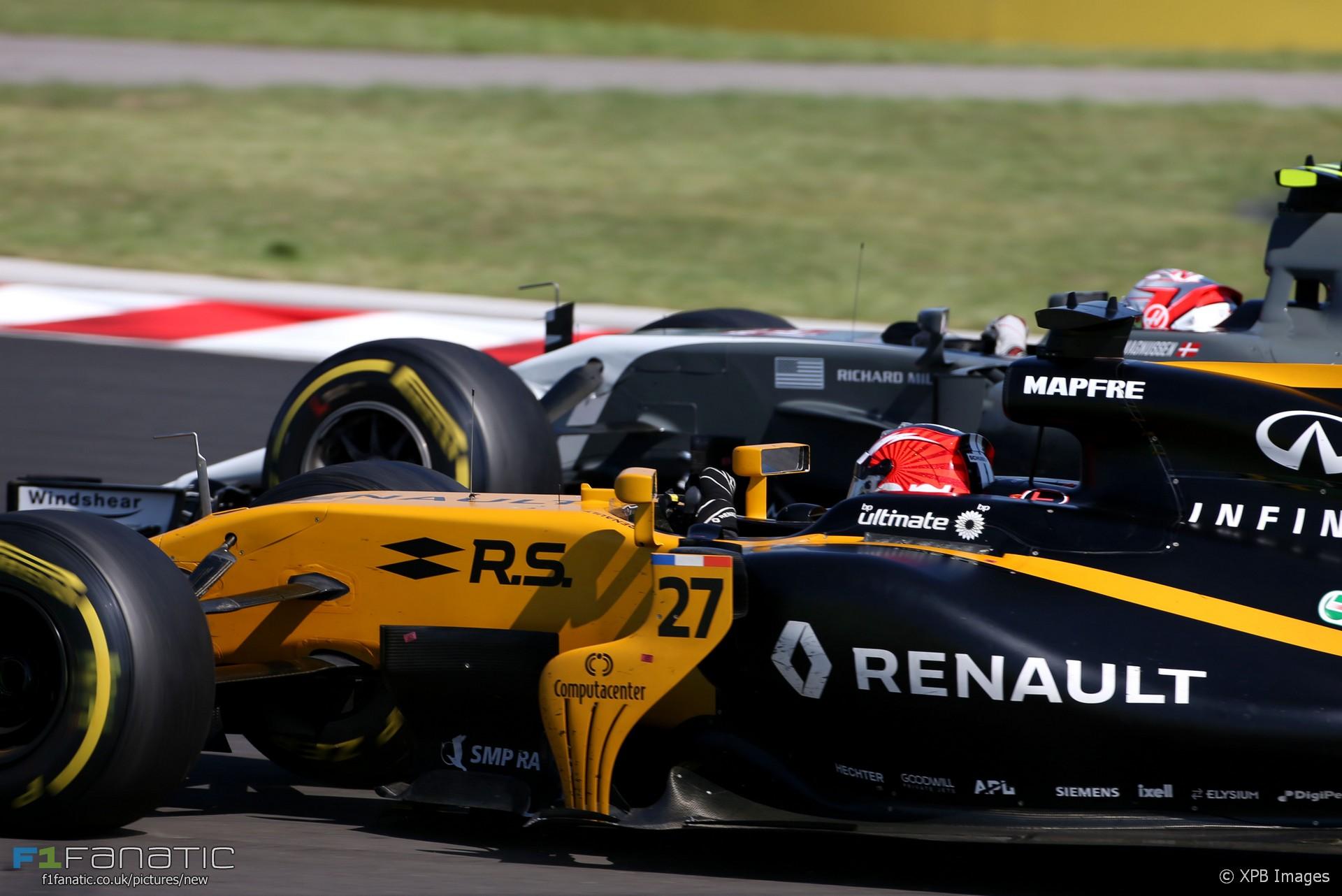 Nico Hulkenberg, Kevin Magnussen, Renault, Hungaroring, 2017