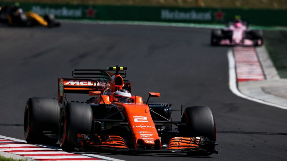 Stoffel Vandoorne, McLaren, Hungaroring, 2017