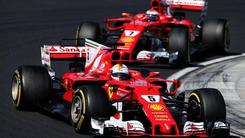 Vettel: No need for team orders at Ferrari yet