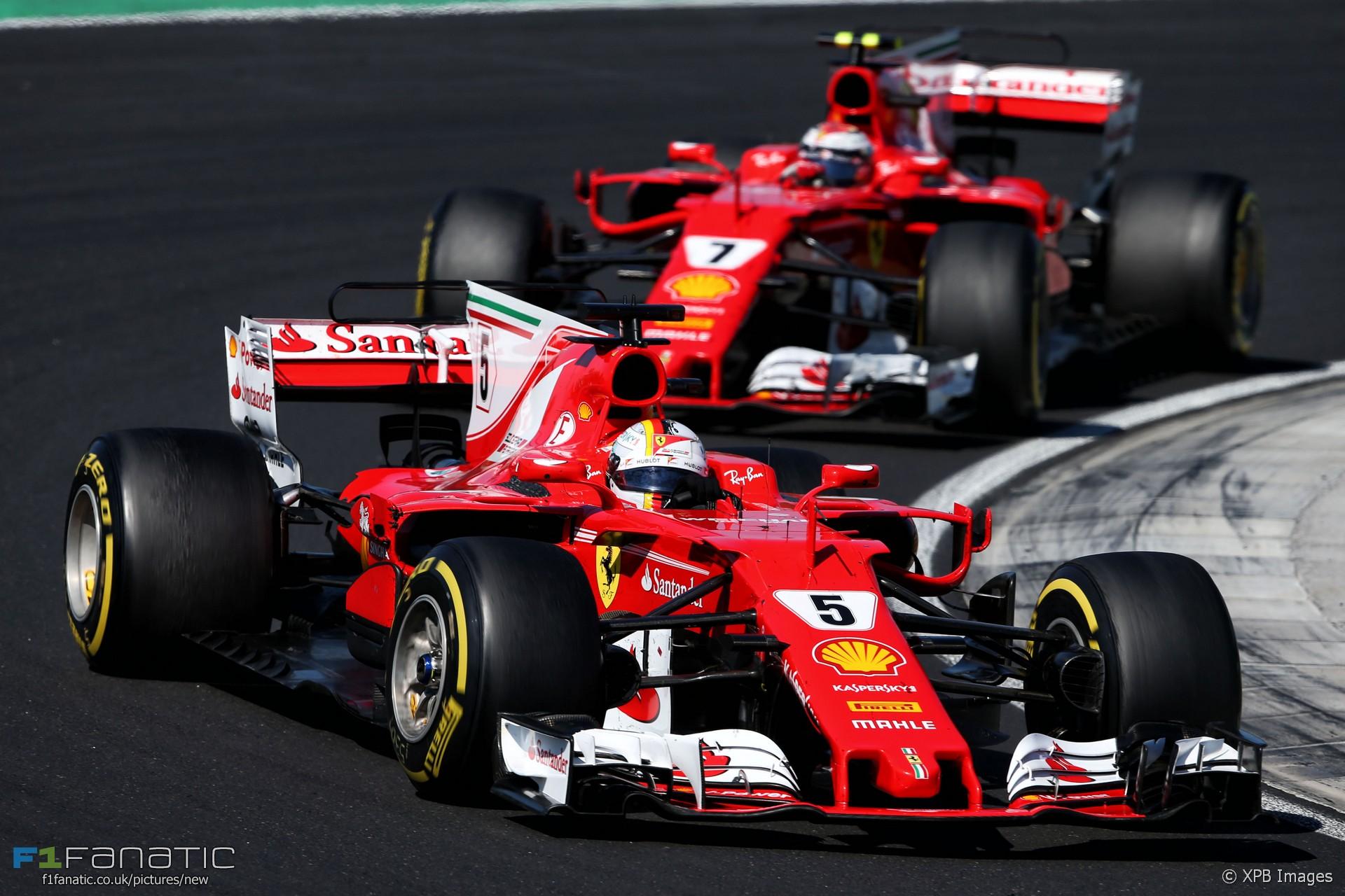 2017 F1 Team Mate Battles Vettel Vs Raikkonen At Ferrari Racefans
