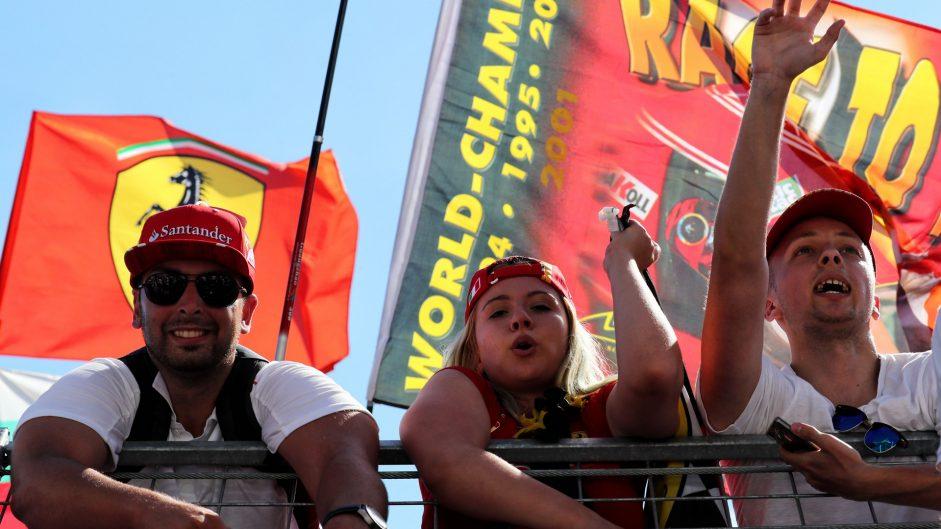 Fans, Hungaroring, 2017