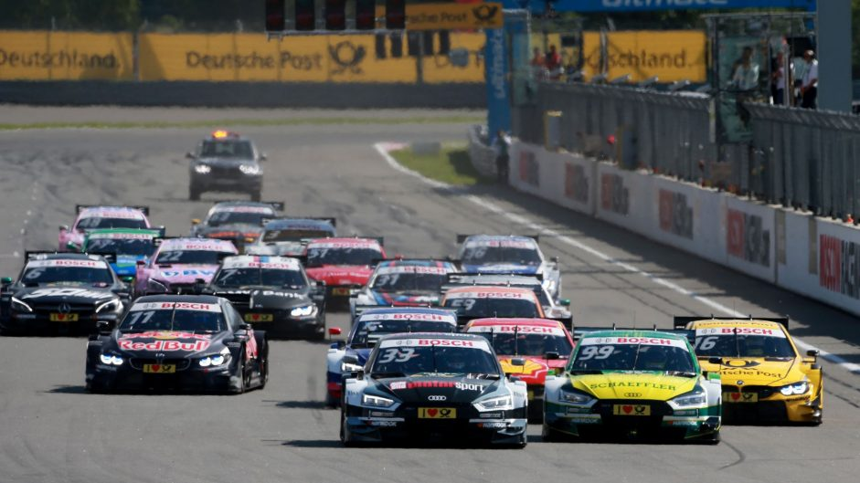 One point in it as rookie chases DTM title