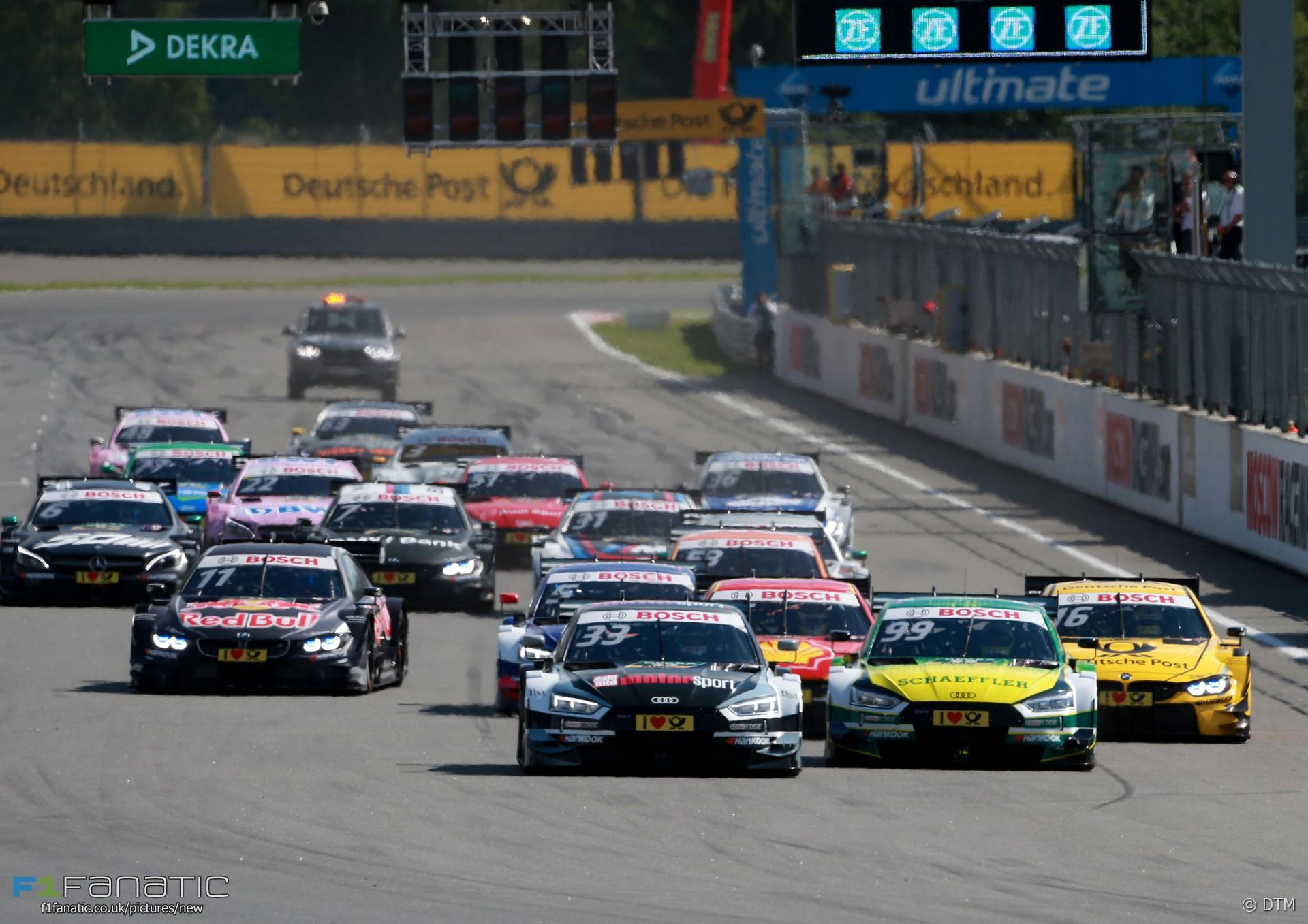 Start, DTM, Moscow Raceway, 2017