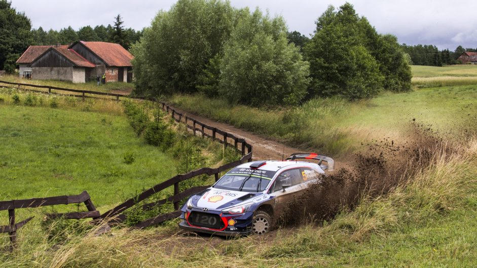Late crash decides thrilling Rally of Poland