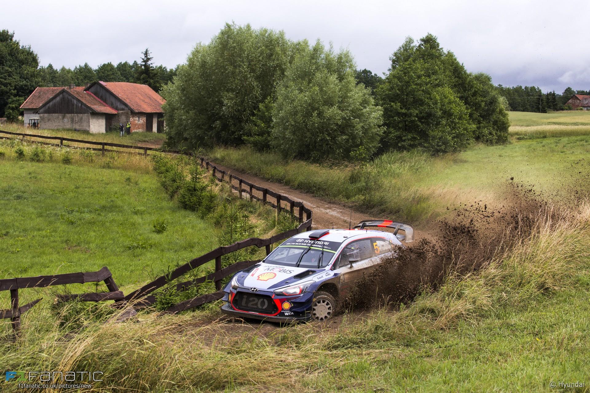 Thierry Neuville, Hyundai i20, Rally Poland, 2017