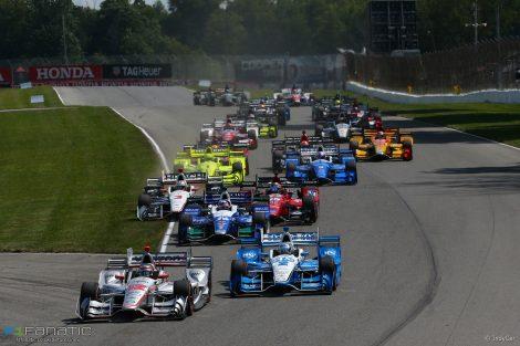 Start, IndyCar, Mid-Ohio, 2017