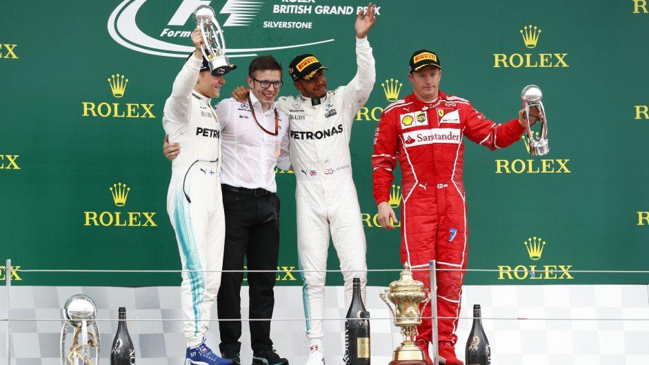 2017 British Grand Prix Predictions Championship results