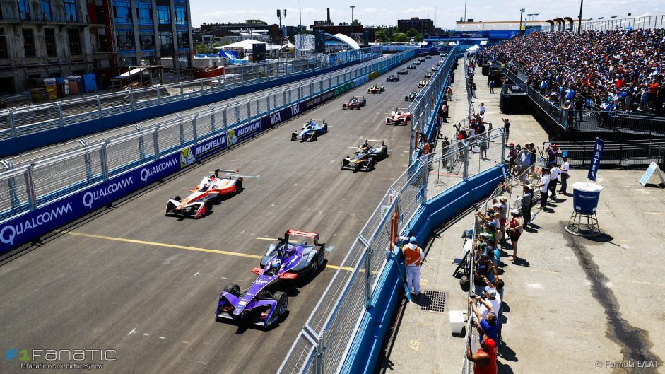 "Carey not worried about ""street party"" Formula E"
