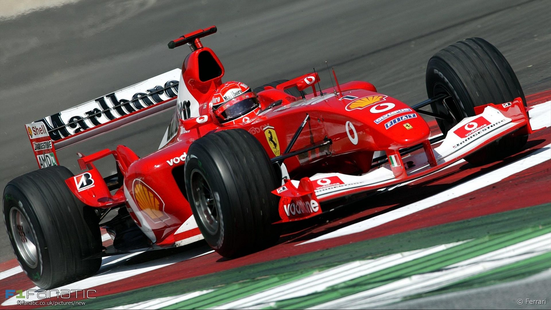 Michael Schumacher, Ferrari, A1-Ring, 2003
