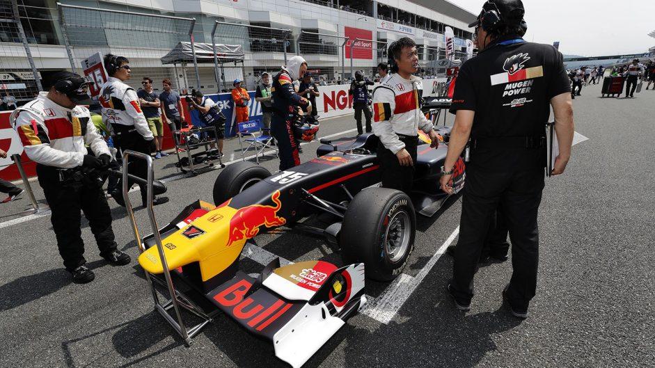 Pierre Gasly, Super Formula, Fuji, 2017