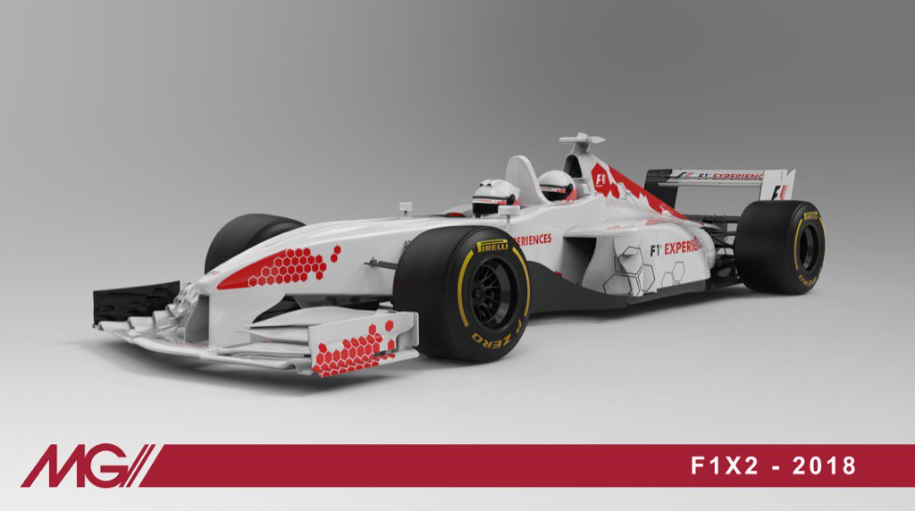 2018 two seater F1 car