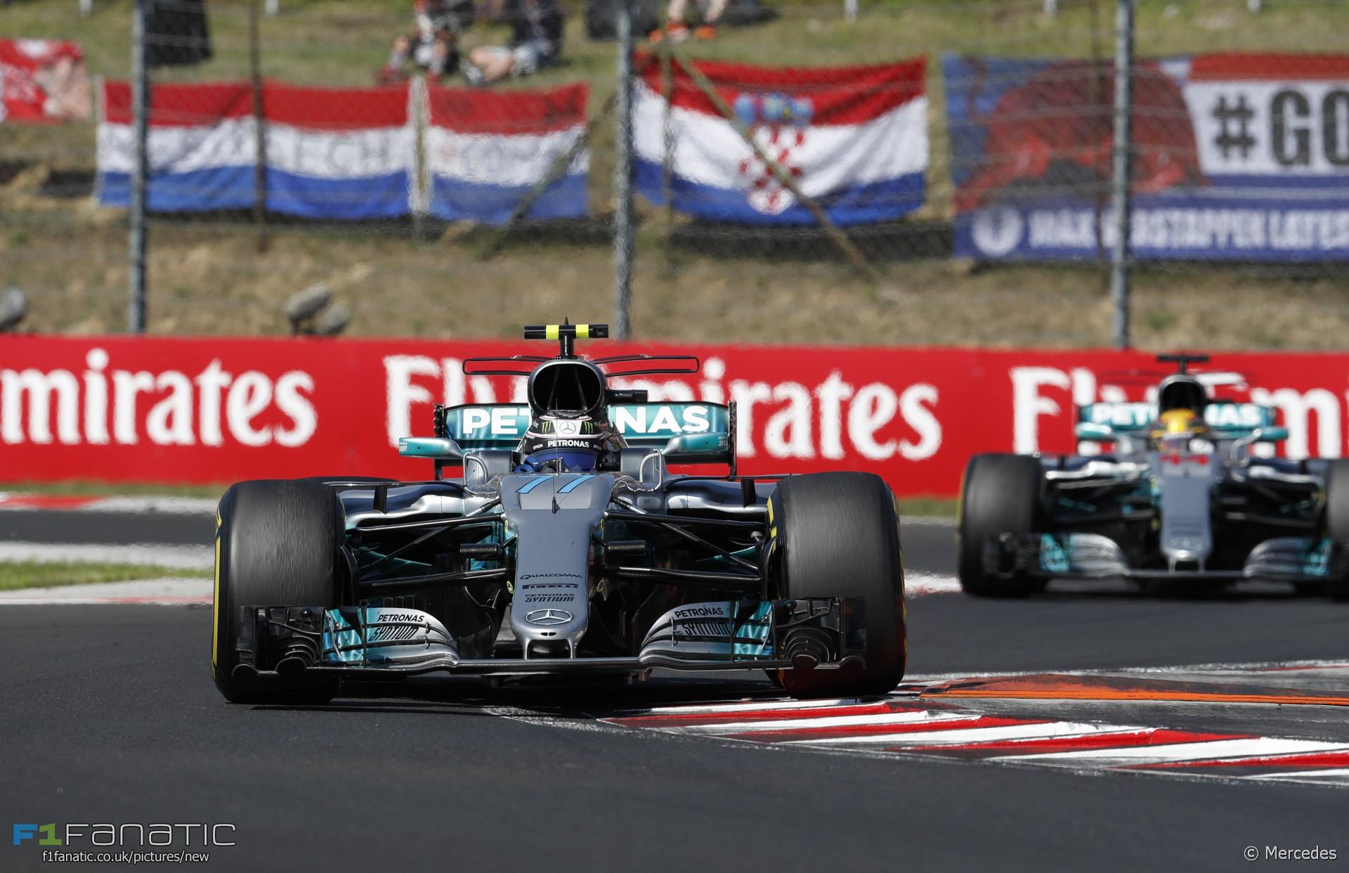 Valtteri Bottas, Mercedes, Hungaroring, 2017