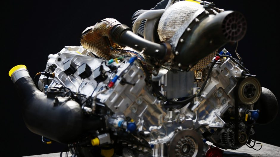Engine, 2018 Formula Two car launch, Monza, 2017