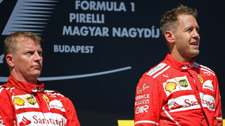 Ferrari CEO indicates Raikkonen and Vettel are likely to stay for 2018