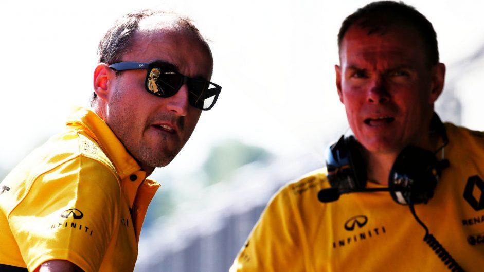 Robert Kubica, Renault, Hungaroring, 2017