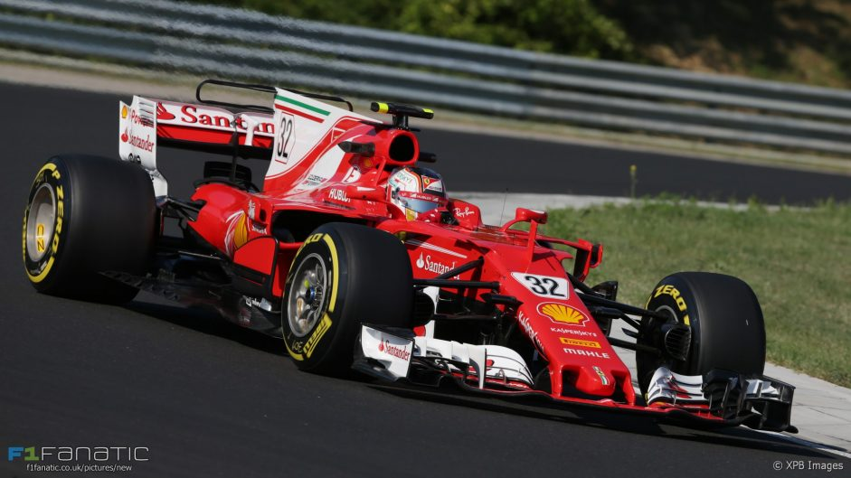 Pictures: Hungaroring test day one