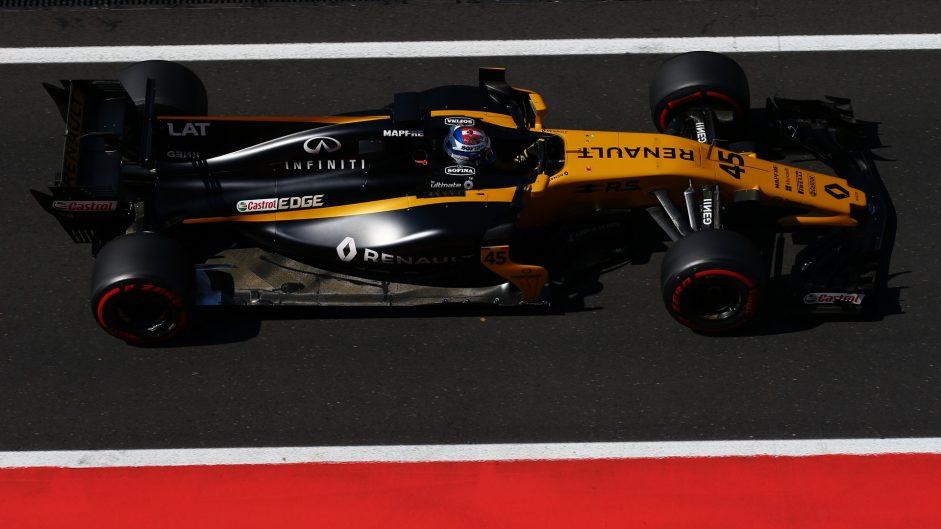 Nicholas Latifi, Renault, Hungaroring, 2017