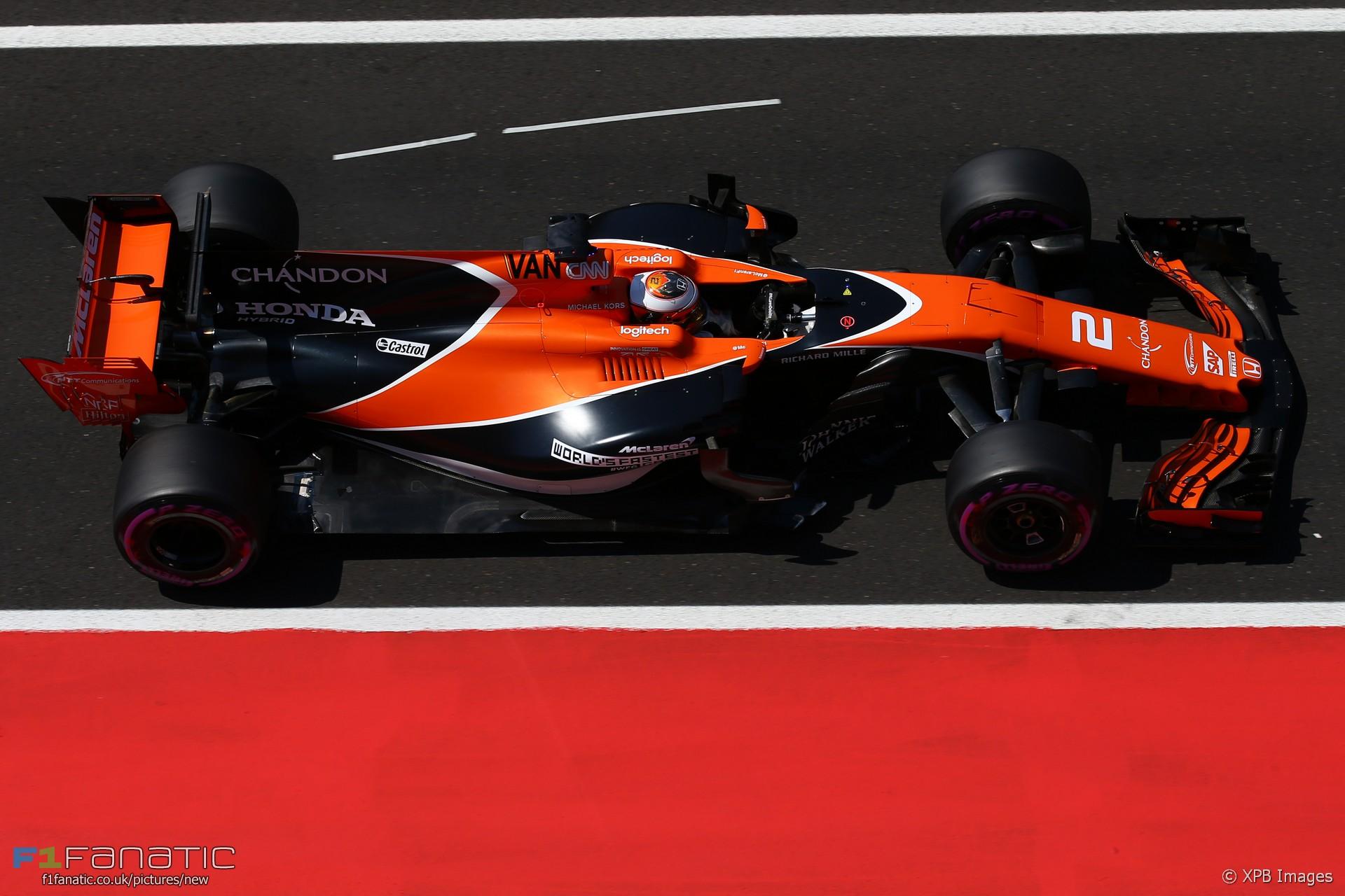 Stoffel Vandoorne Mclaren Hungaroring 2017 F1 Fanatic