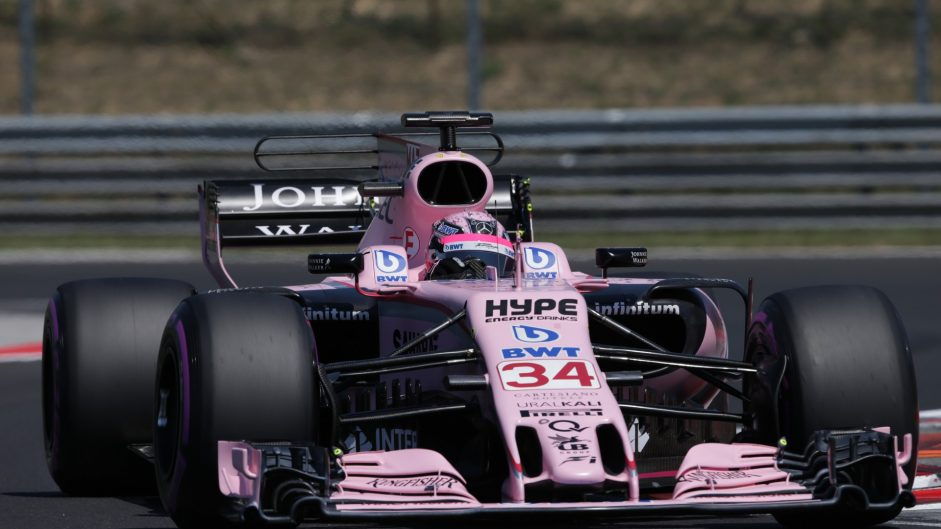 Nikita Mazepin, Force India, Hungaroring, 2017