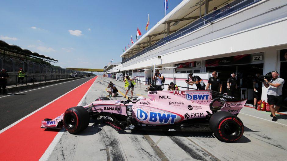Lucas Auer, Force India, Hungaroring, 2017