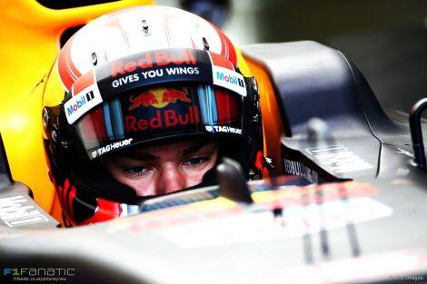 Pierre Gasly, Red Bull, Hungaroring, 2017