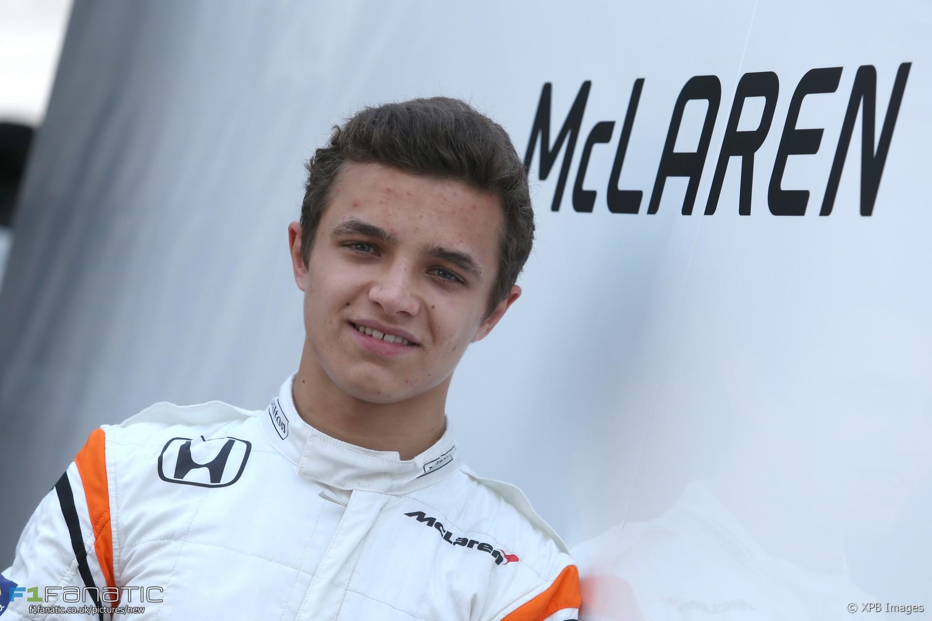 Lando Norris, McLaren, Hungaroring, 2017