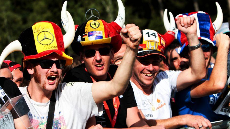 Fans, Spa-Francorchamps, 2017