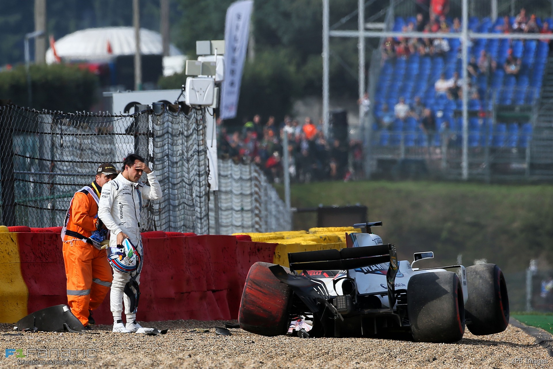 Felipe Massa, Williams, Spa-Francorchamps, 2017