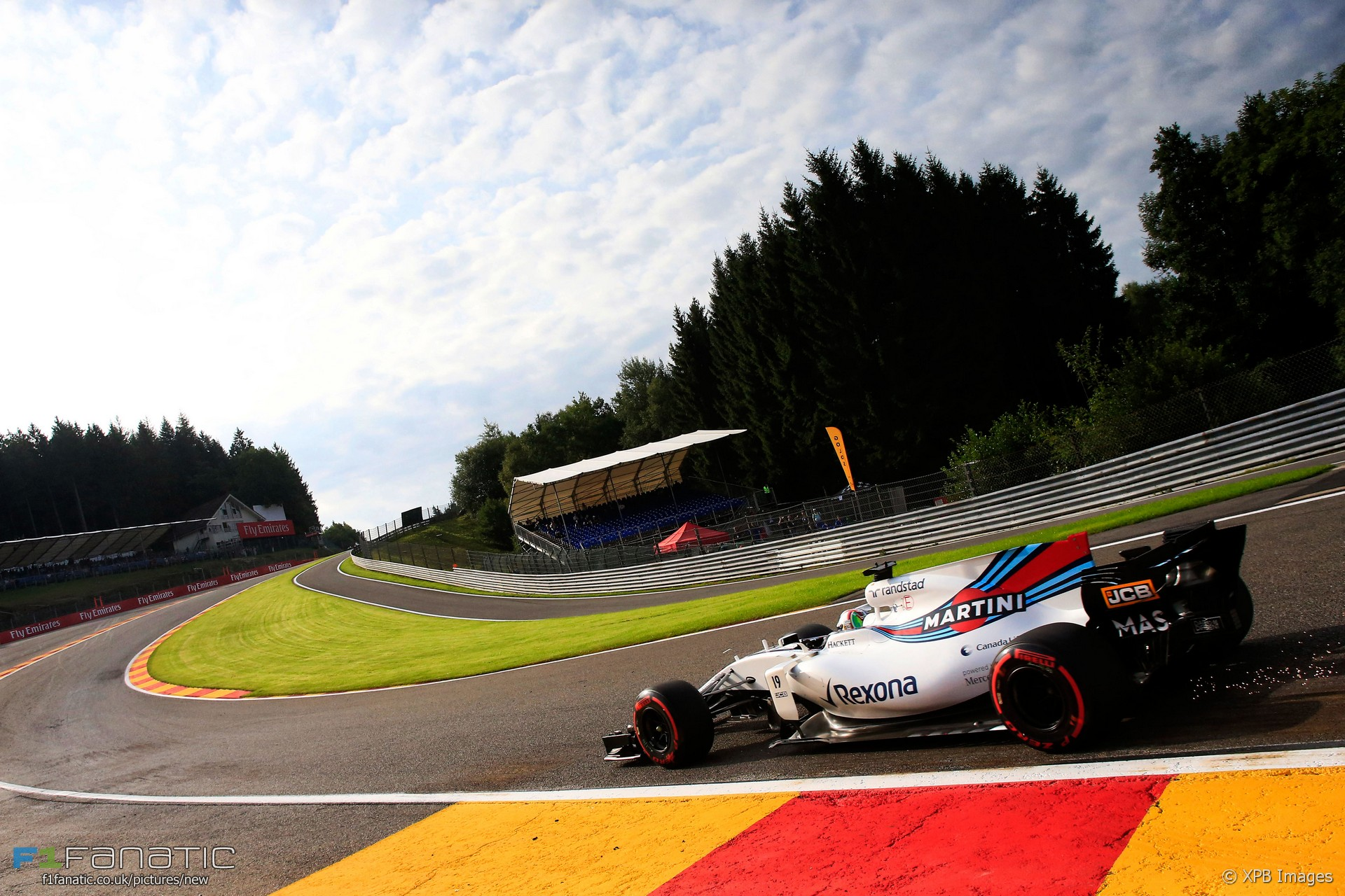Felipe Massa, Williams, Spa-Francorchamps, 2017