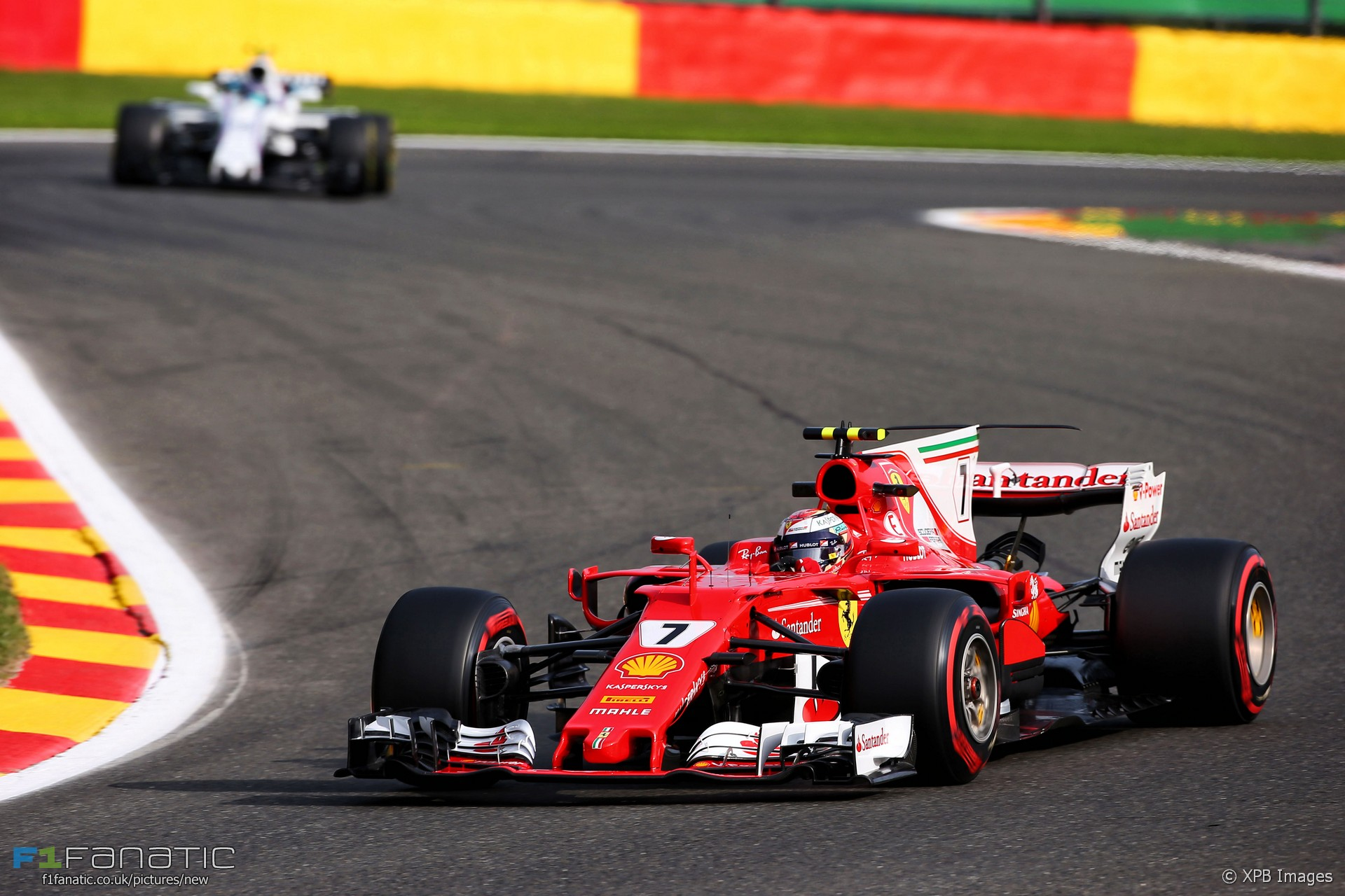 Kimi Raikkonen, Ferrari, Spa-Francorchamps, 2017