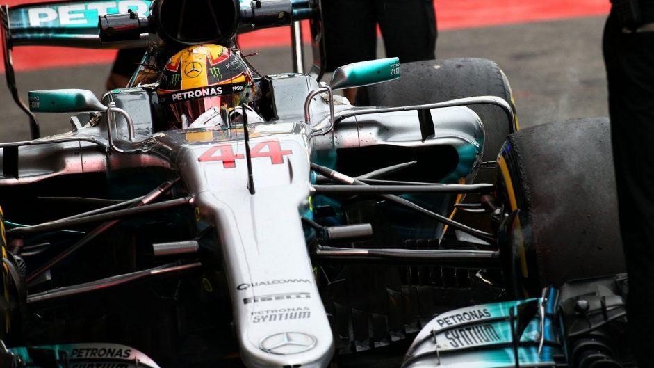 Hamilton 'honoured' to match Schumacher's pole record