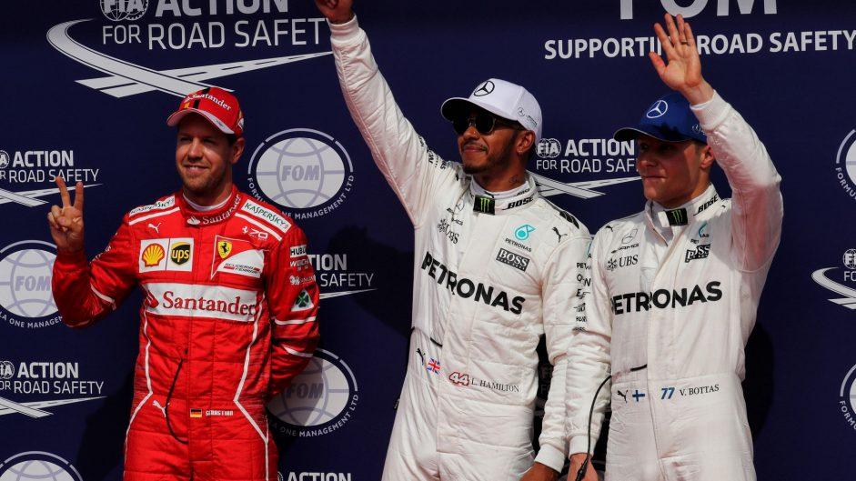 2017 Belgian Grand Prix grid