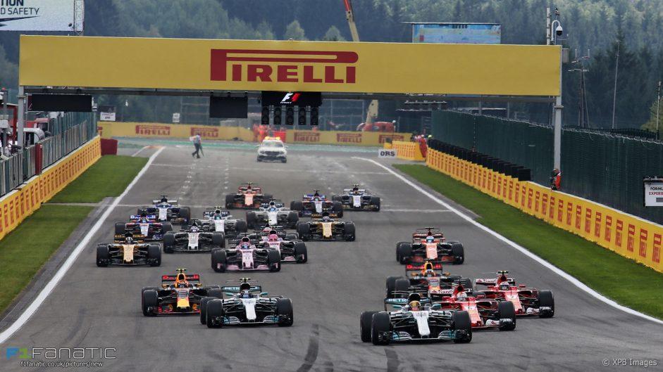 2017 Belgian Grand Prix in pictures