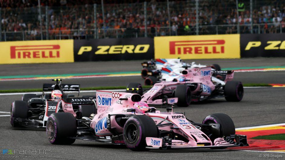 2017 Belgian Grand Prix team radio transcript