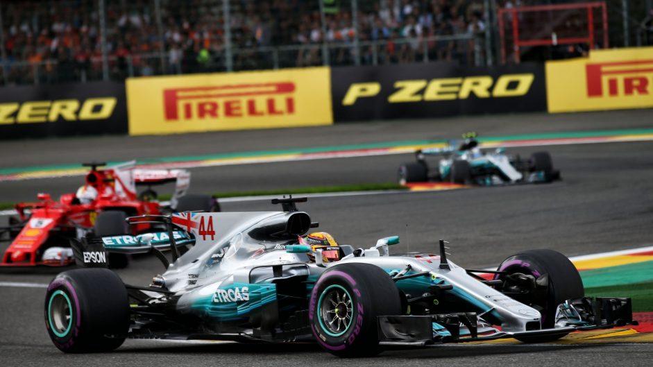 2017 Belgian Grand Prix race result