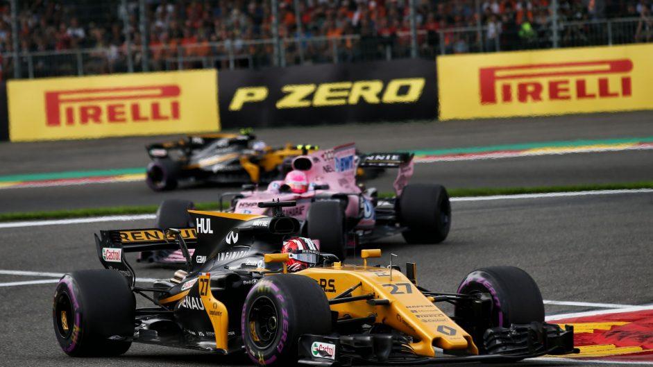 Nico Hulkenberg, Renault, Spa-Francorchamps, 2017