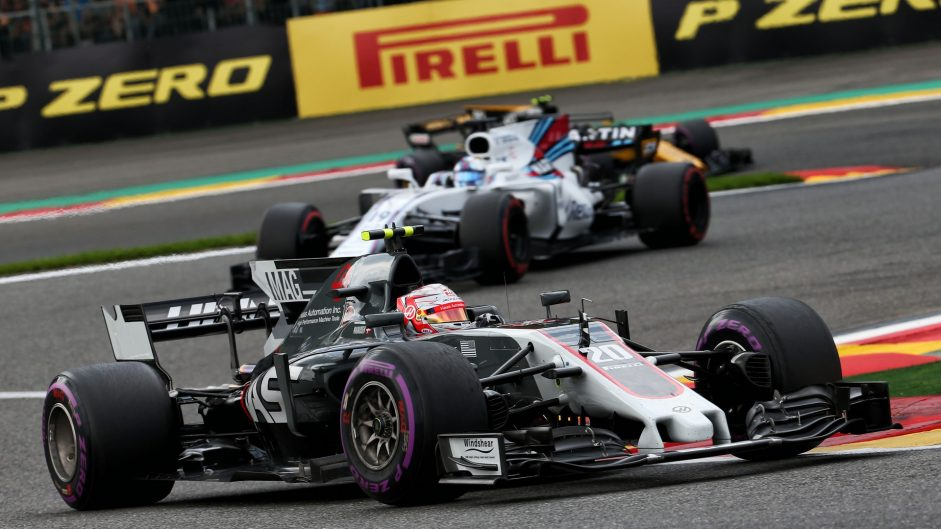Kevin Magnussen, Haas, Spa-Francorchamps, 2017