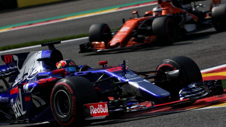 Daniil Kvyat, Toro Rosso, Spa-Francorchamps, 2017